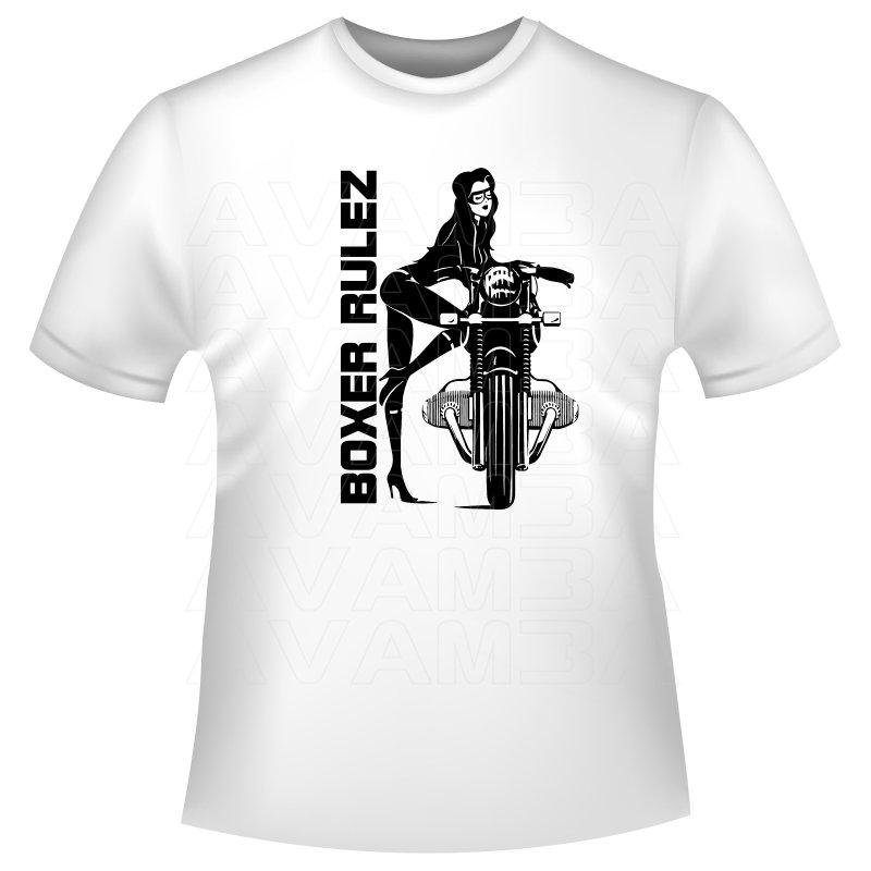 bmw boxer motorrad inspiriertes t shirt kapuzenpullover. Black Bedroom Furniture Sets. Home Design Ideas