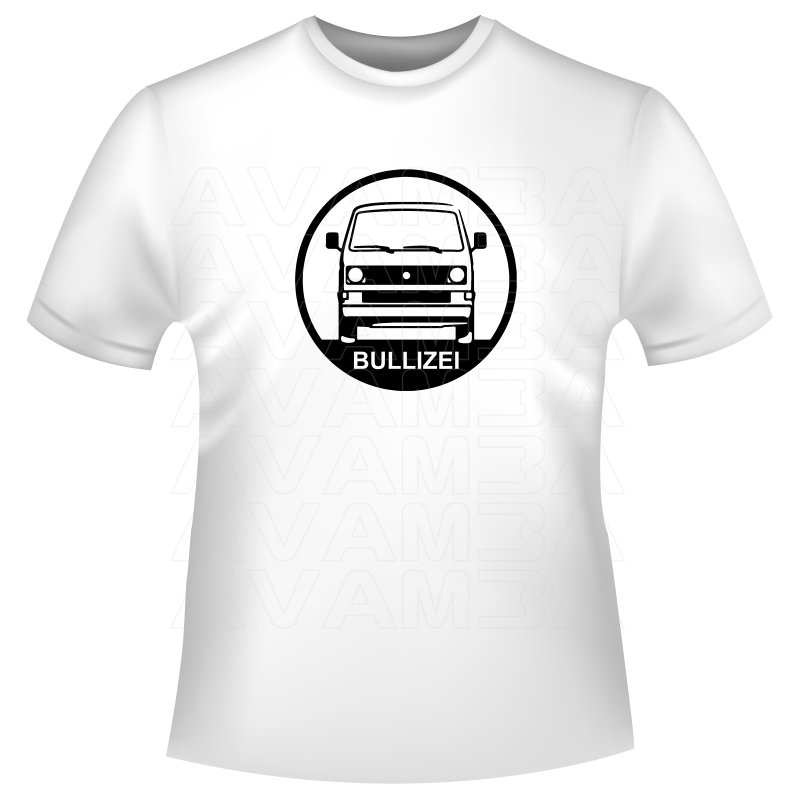 Bus T3 Bullizei T Shirt Kapuzenpullover Hoodie Avamba Oldtimer Y