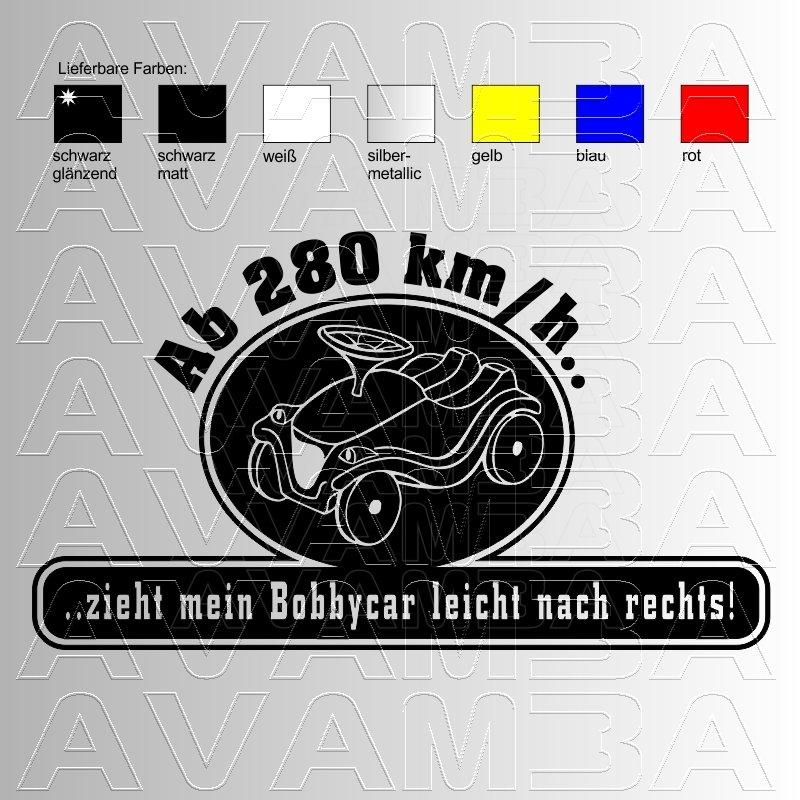 autoaufkleber autosticker bobbycar version2 avamba. Black Bedroom Furniture Sets. Home Design Ideas