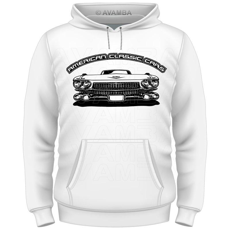 Cadillac Coupe de Ville 1959 T-Shirt / Kapuzenpullover (Hoodie)