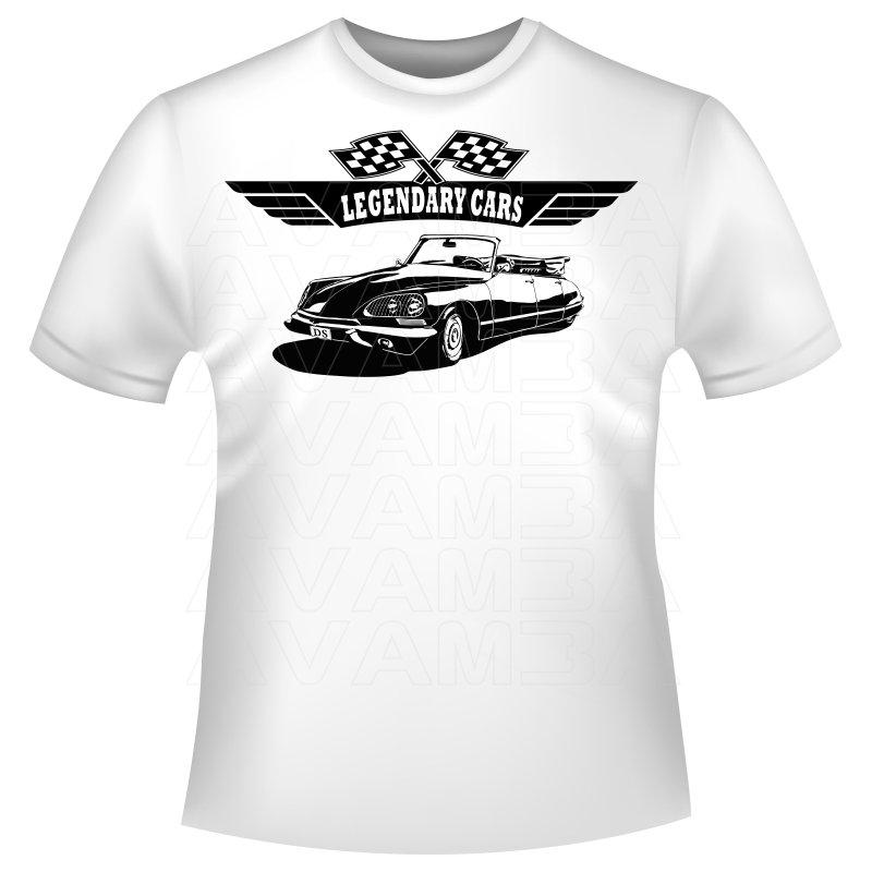 Citroen Ds 21 Usine Cabriolet T Shirt Kapuzenpullover Hoodie Av