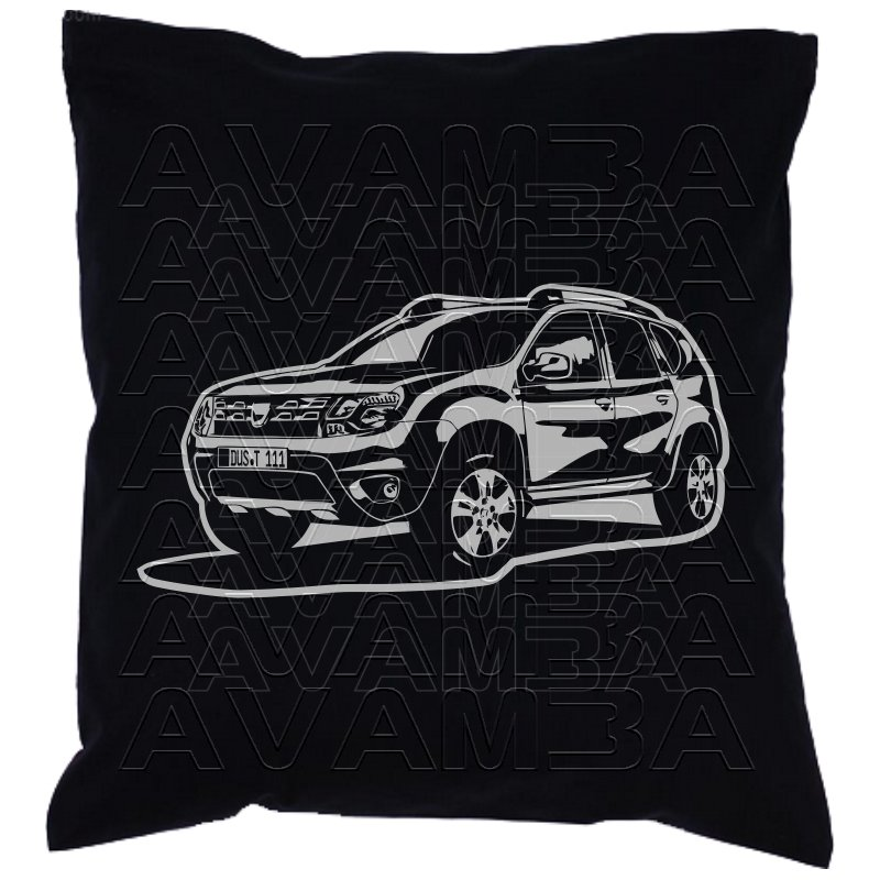 dacia duster car art kissen car art pillow avamba. Black Bedroom Furniture Sets. Home Design Ideas