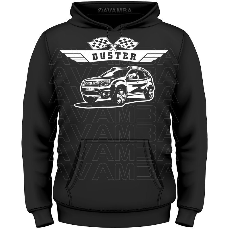 dacia duster t shirt kapuzenpullover hoodie avamba. Black Bedroom Furniture Sets. Home Design Ideas