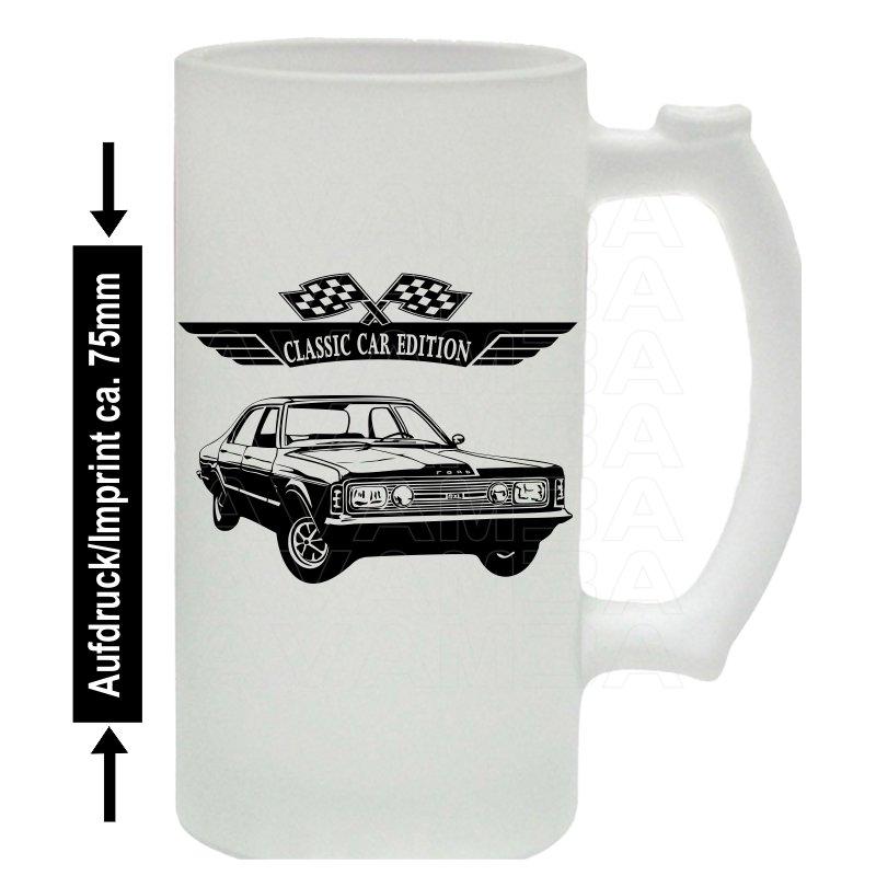 Ford Taunus GXL Bierkrug / Beermug m. Aufdruck