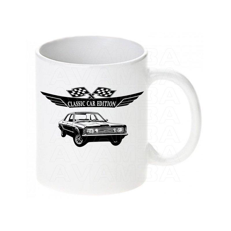 Ford Taunus GXL Tasse / Keramikbecher m. Aufdruck