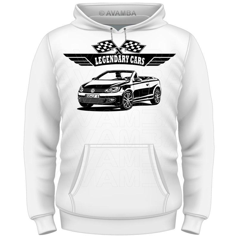 GOLF Cabrio VI 6 (2011 - 2016) Auto T-Shirt/Kapuzenpullover (Hoodie)
