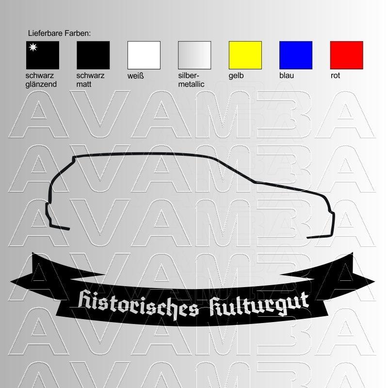 Golf 3 Silhouette Historisches Kulturgut