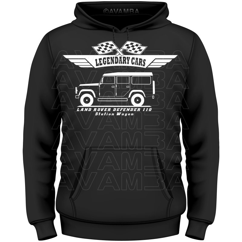 Land Rover Defender 110 Station Wagon T-Shirt