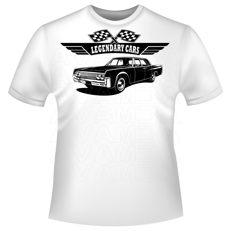 lincoln continental 1962 t shirt kapuzenpullover hoodie avamba. Black Bedroom Furniture Sets. Home Design Ideas