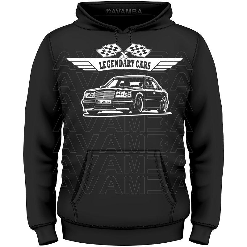 Mercedes benz w124 limousine version 2 t shirt for Mercedes benz hoodie