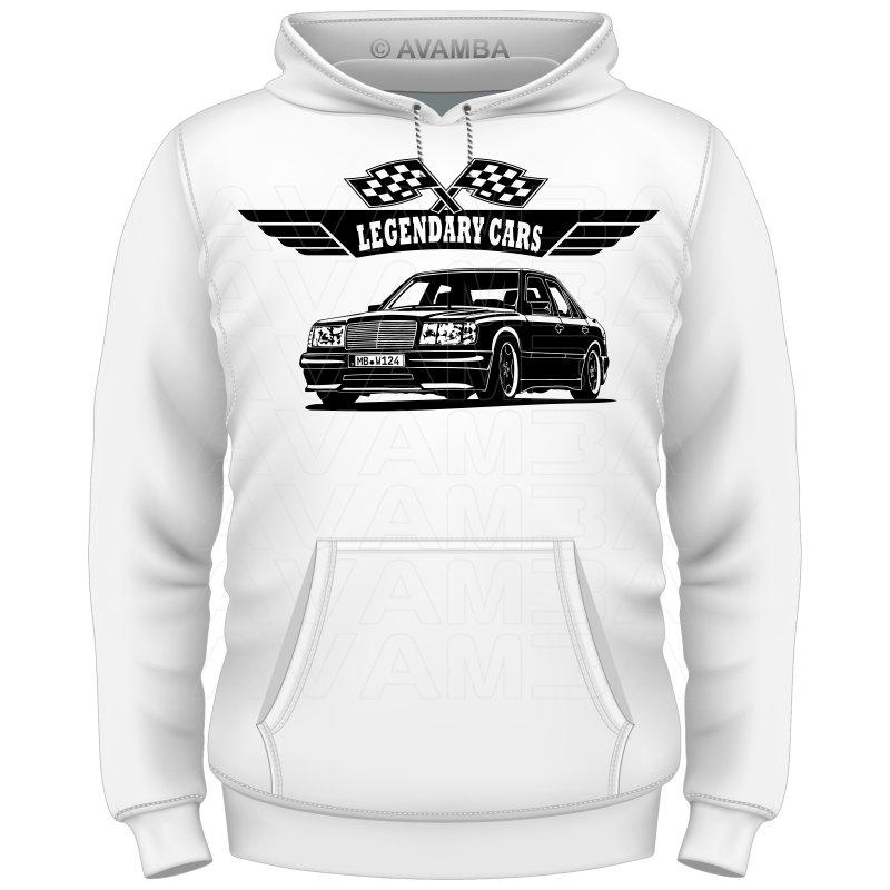 mercedes benz w124 limousine version 2 t shirt. Black Bedroom Furniture Sets. Home Design Ideas