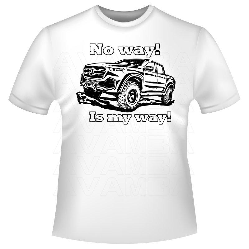 Mercedes benz x klasse pick up baureihe 470 t shirt for Mercedes benz hoodie
