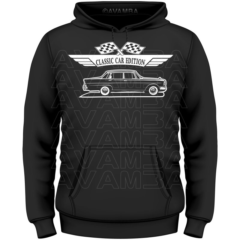 mercedes w111 limousine seite 1961 1971 t shirt. Black Bedroom Furniture Sets. Home Design Ideas