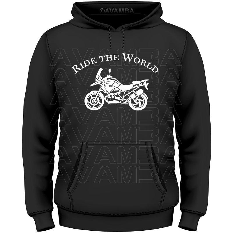 motorrad bmw 1200 gs t shirt kapuzenpullover hoodie. Black Bedroom Furniture Sets. Home Design Ideas