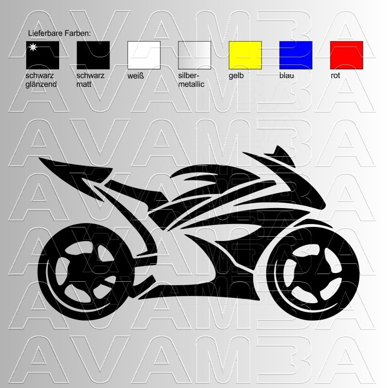 motorrad racingbike aufkleber sticker avamba oldtimer youngtimer au. Black Bedroom Furniture Sets. Home Design Ideas