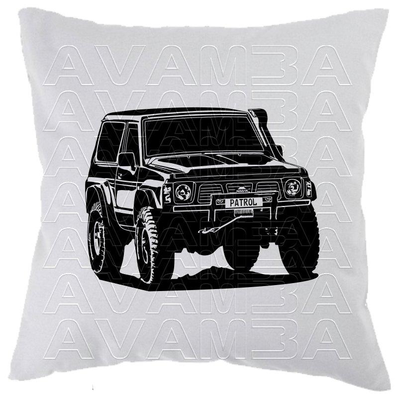 Nissan Patrol GR Y60 Car-Art-Kissen / Car-Art-Pillow