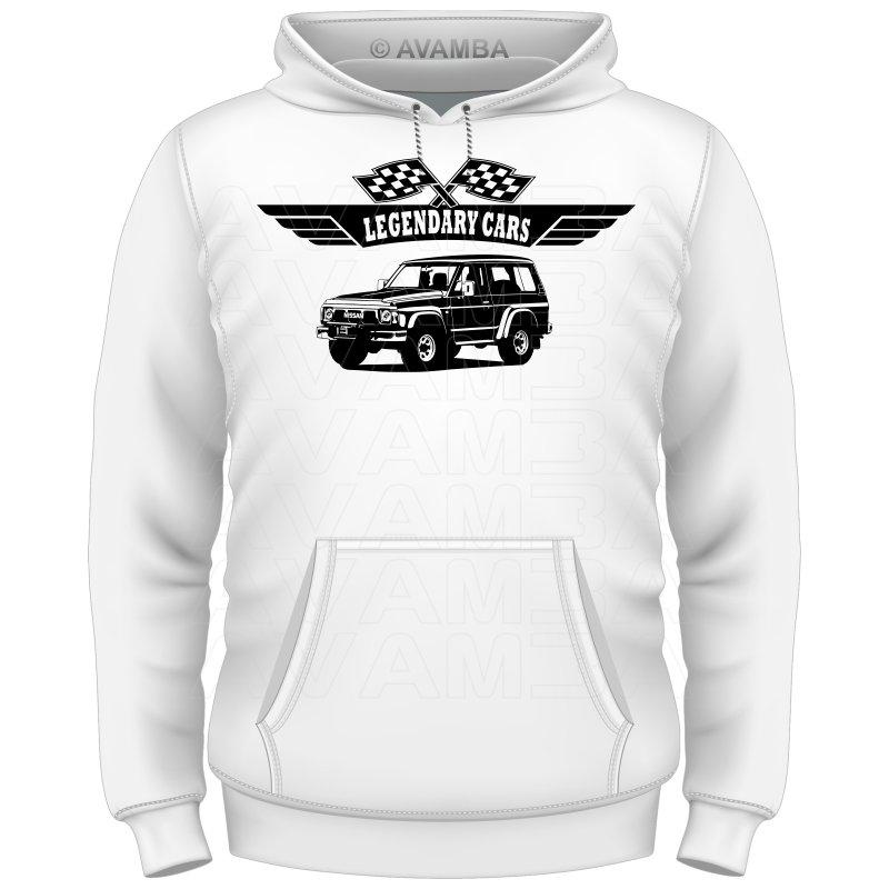 Nissan Patrol GR Y60 V2 T-Shirt / Kapuzenpullover (Hoodie)