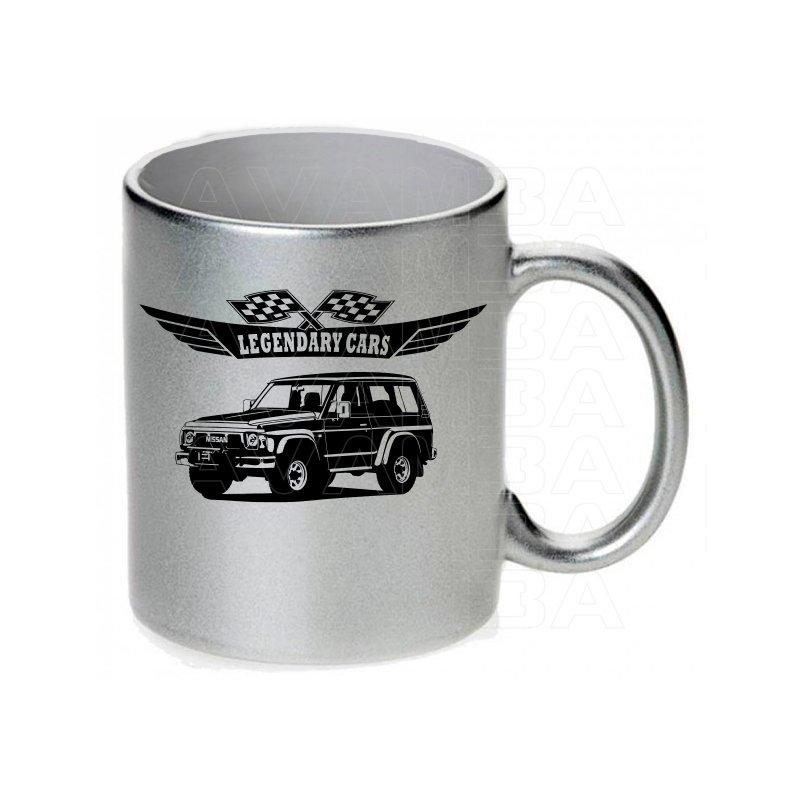 Nissan Patrol GR Y60 V2 Tasse / Keramikbecher m. Aufdruck