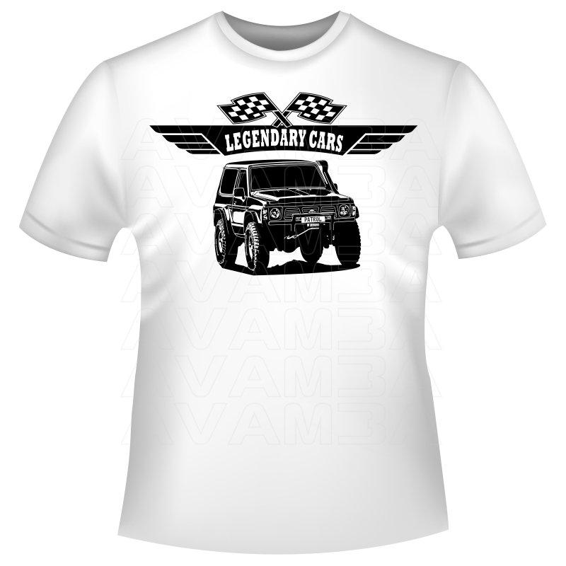 Nissan Patrol GR Y60 Nissan Patrol T-Shirt / Kapuzenpullover (Hoodie)