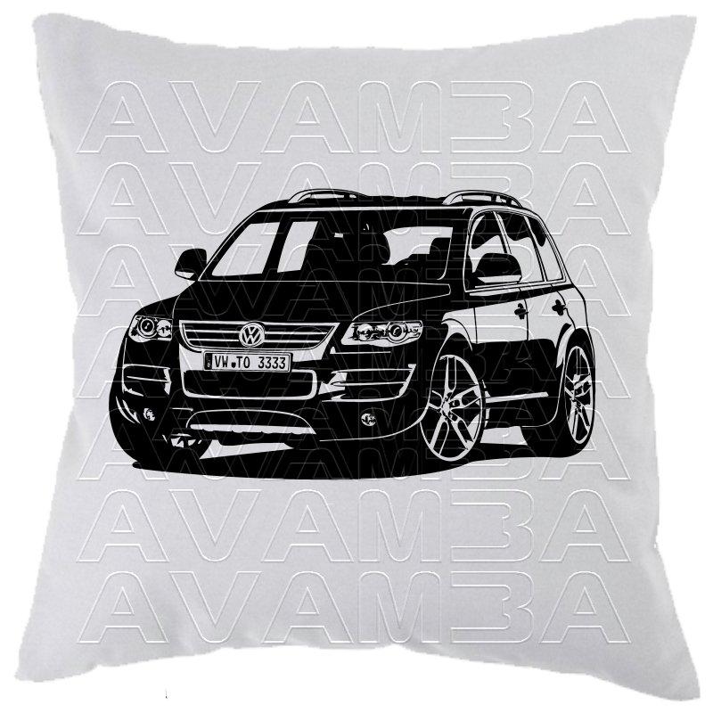 touareg car art kissen car art pillow avamba oldtimer. Black Bedroom Furniture Sets. Home Design Ideas
