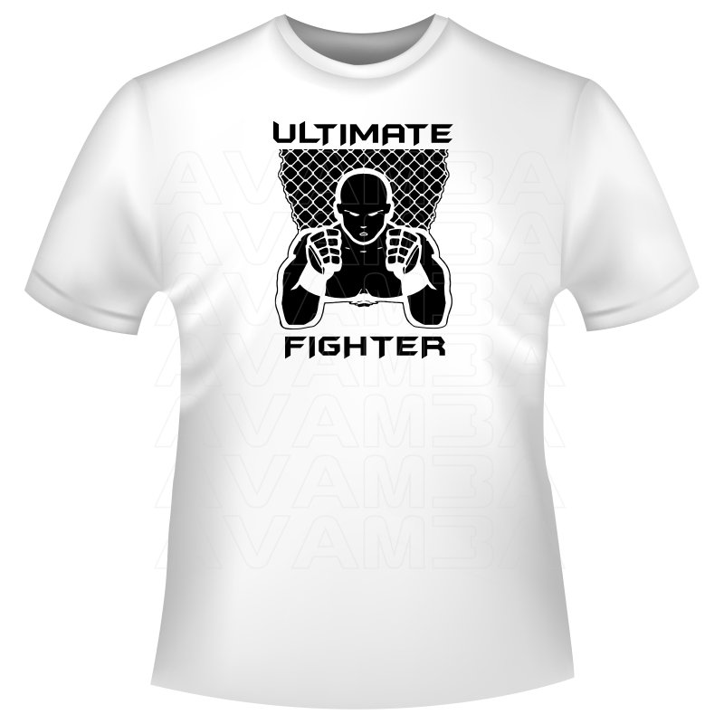 ultimate fighter t shirt kapuzenpullover hoodie avamba