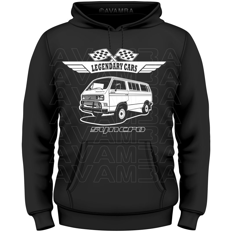 t3 syncro bus t shirt kapuzenpullover hoodie avamba. Black Bedroom Furniture Sets. Home Design Ideas