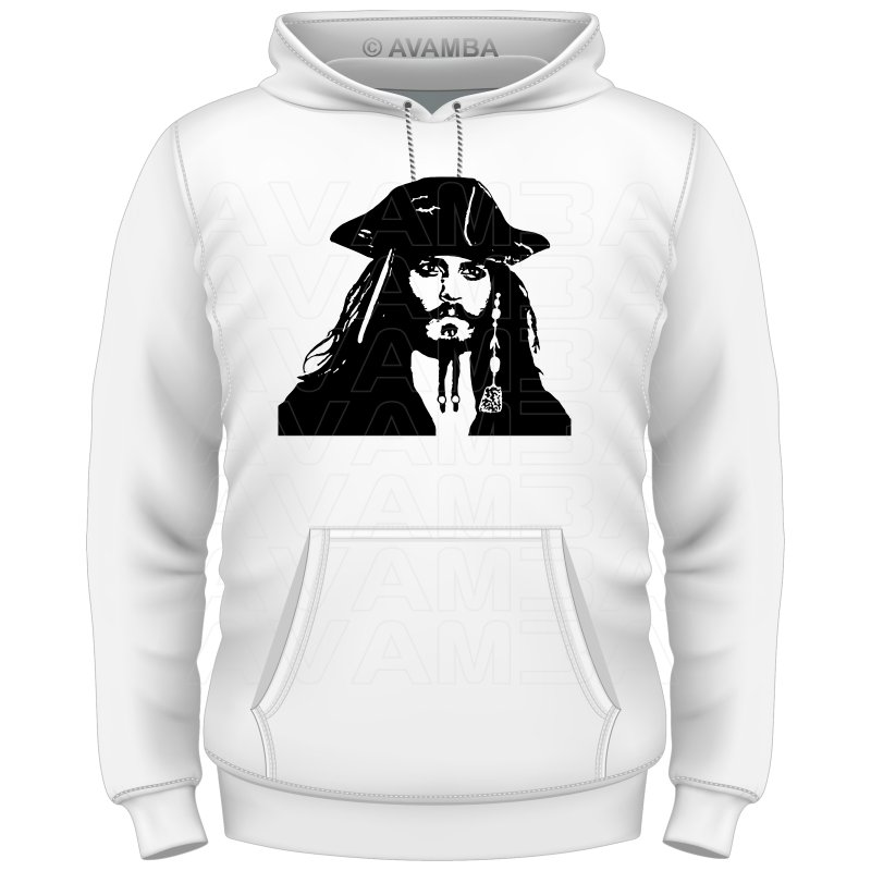 Johnny Depp Jack Sparrow T-Shirt/Kapuzenpullover (Hoodie)