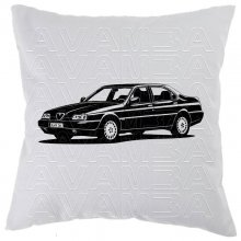 Alfa Romeo 164 (1987 - 1997) Car-Art-Kissen / Car-Art-Pillow