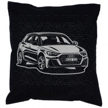 Audi A1 S1 (GB) 2. Generation  (2018 -  ) Car-Art-Kissen...