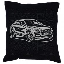 Audi Q2 (GA) Version 2 - Car-Art-Kissen / Car-Art-Pillow