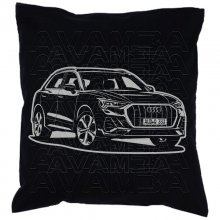 Audi Q3 (Typ F3 ab 2018) Car-Art-Kissen / Car-Art-Pillow