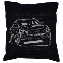 Audi Q8 Car-Art-Kissen / Car-Art-Pillow