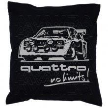 Audi Rallye Quattro - No limits  Car-Art-Kissen /...