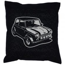 Austin (BMC) Mini  Car-Art-Kissen / Car-Art-Pillow