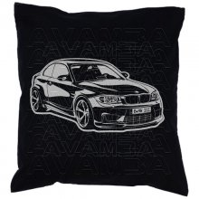 BMW 1er Coupe E82  Car-Art-Kissen / Car-Art-Pillow