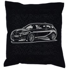 BMW 1er F21 (ab 2011 -)  Car-Art-Kissen / Car-Art-Pillow
