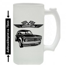 BMW 2002 Turbo Bierkrug / Beermug m. Aufdruck