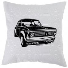 BMW 2002 TurboCar-Art-Kissen / Car-Art-Pillow