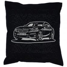 BMW 2er Coupè F22 (ab 2013 -)  Car-Art-Kissen /...