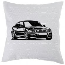BMW 3er Coupè E46 (2000-2007) Car-Art-Kissen /...