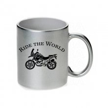 BMW R 1200 GS Ride the world Tasse / Keramikbecher m. Aufdruck