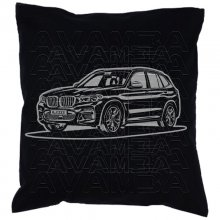 BMW X3 (G01 ab 2017)  Car-Art-Kissen / Car-Art-Pillow