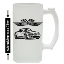 BMW Z3 Roadster (E36/7) Version 2 Bierkrug / Beermug m....