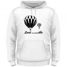 Ballonfahrer Love is in the air T-Shirt/Kapuzenpullover...