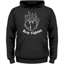 Boxhandschuhe Keep Fighting T-Shirt/Kapuzenpullover (Hoodie)