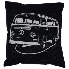 Bus T2 Bulli (1967 - 1979) Car-Art-Kissen / Car-Art-Pillow