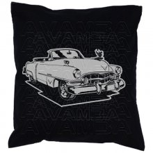 Cadillac 62 Convertible 1949 Car-Art-Kissen / Car-Art-Pillow