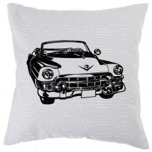 Cadillac Convertible 1951 -2 Car-Art-Kissen / Car-Art-Pillow