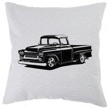 Chevrolet Apache 1958 - 59   Car-Art-Kissen / Car-Art-Pillow