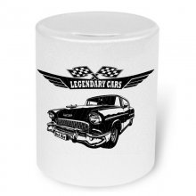 Chevrolet Bel Air 1955    Moneybox / Spardose mit Aufdruck